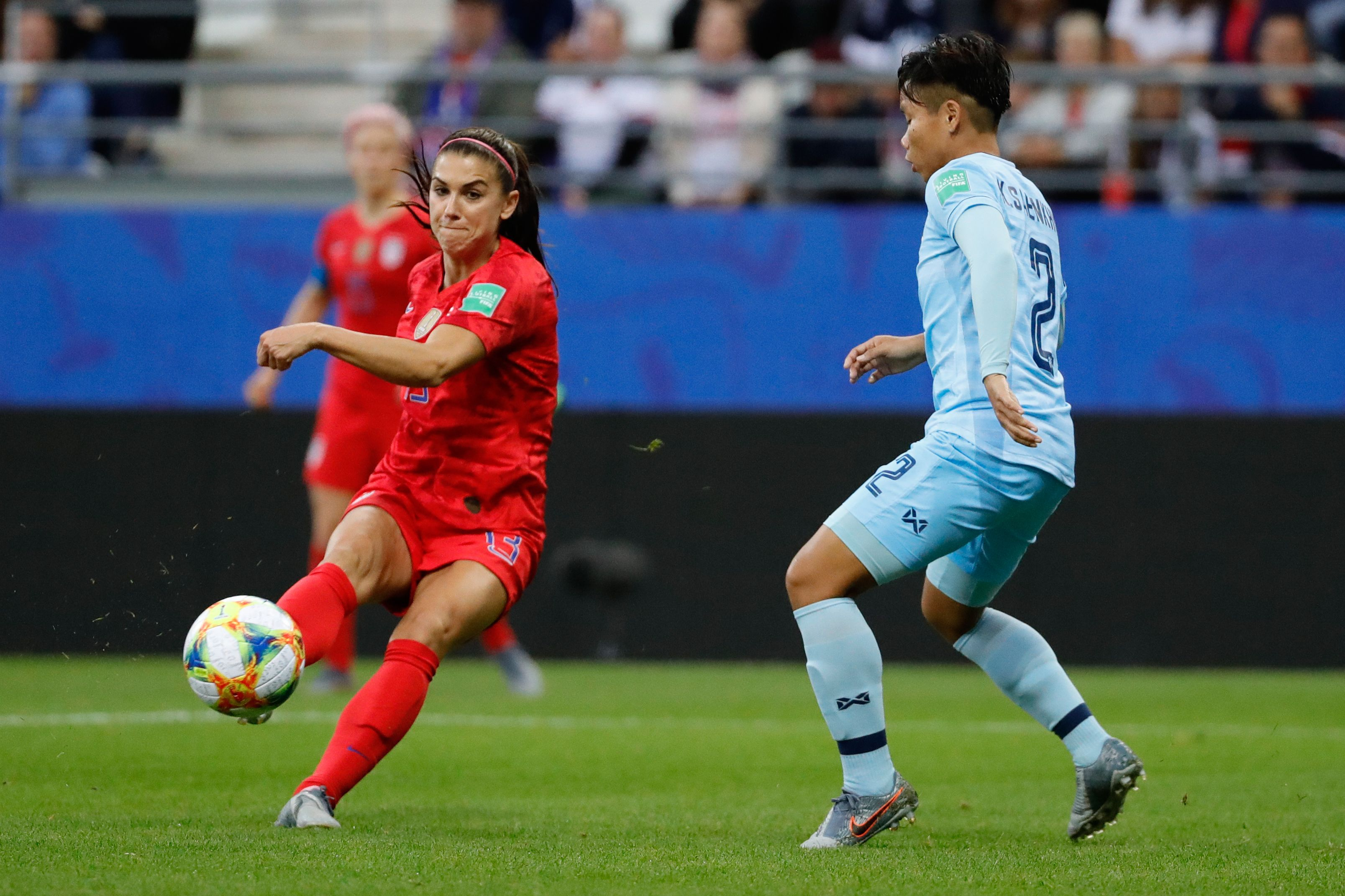 18513153a6f Alex Morgan has record five goals as U.S. routs Thailand 13-0 in Women's  World Cup