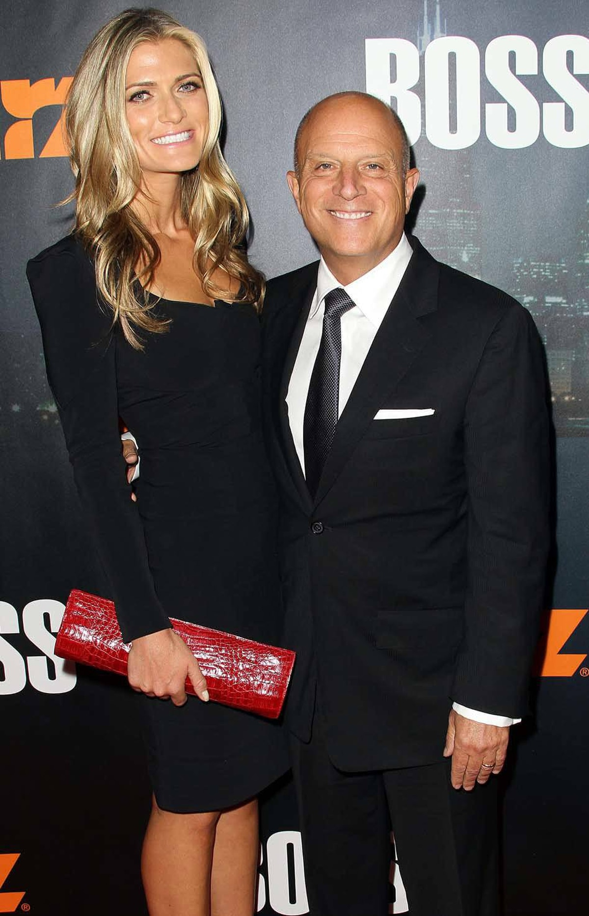 """Occupy this, losers,"" Chris Albrecht, the diminuitive president/CEO of a major Hollywood production company, says while attending a premiere with his taller, younger, way better looking wife in Los Angeles last week."