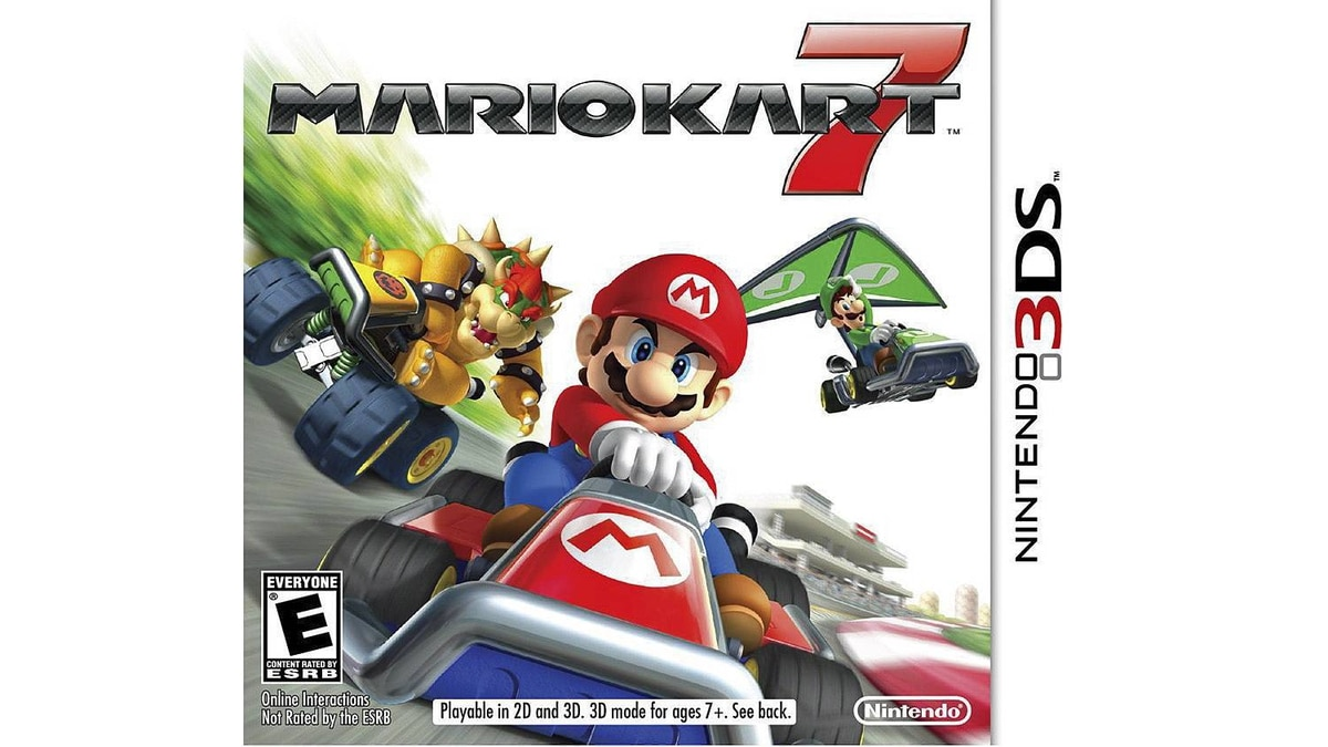 "In this video game cover image released by Nintendo, ""Mario Kart 7,"" is shown. (AP Photo/Nintendo)"