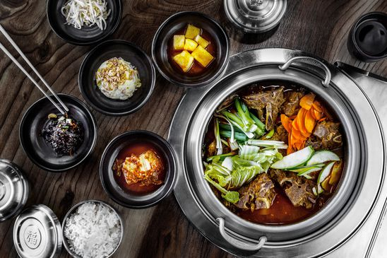 What are the essential ingredients for cooking Korean dishes?