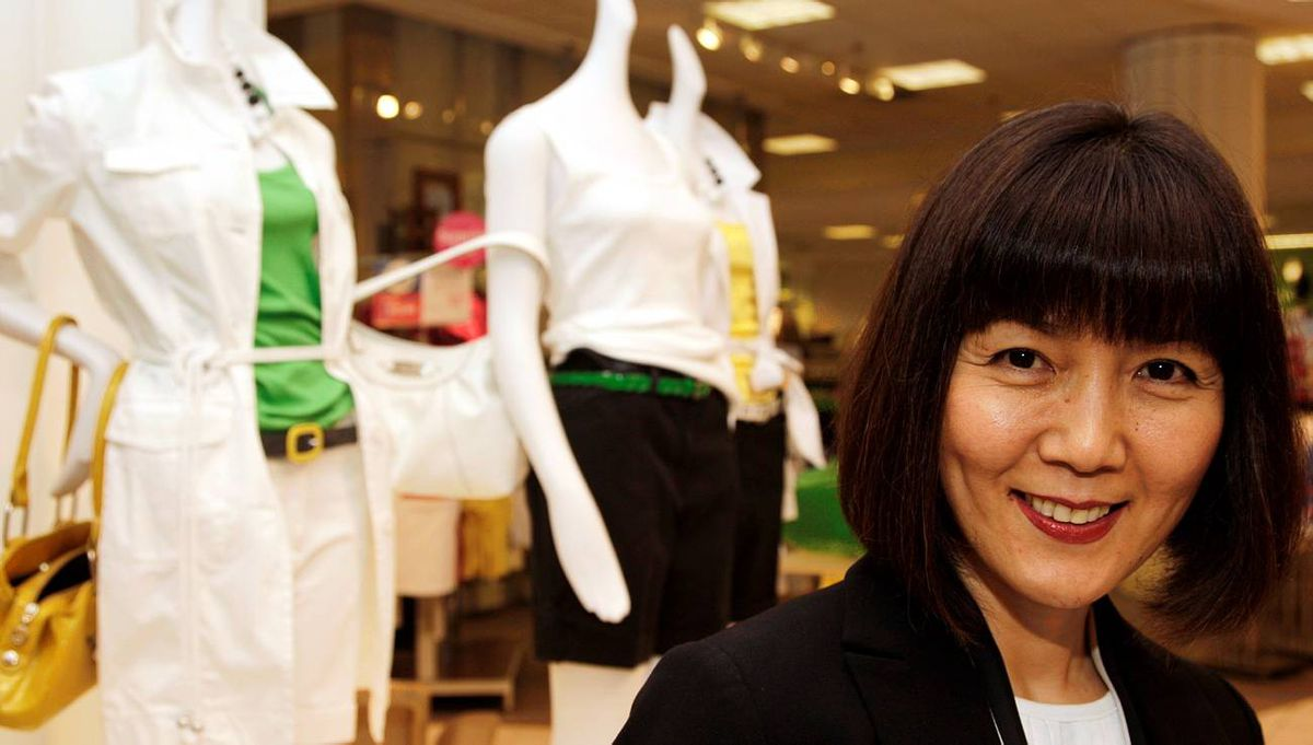 Sarena Campbell, VP Merchandising for Apparel and Acessories at Sears Canada.