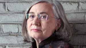 Author Marilynne Robinson at home in Astoria, New York.