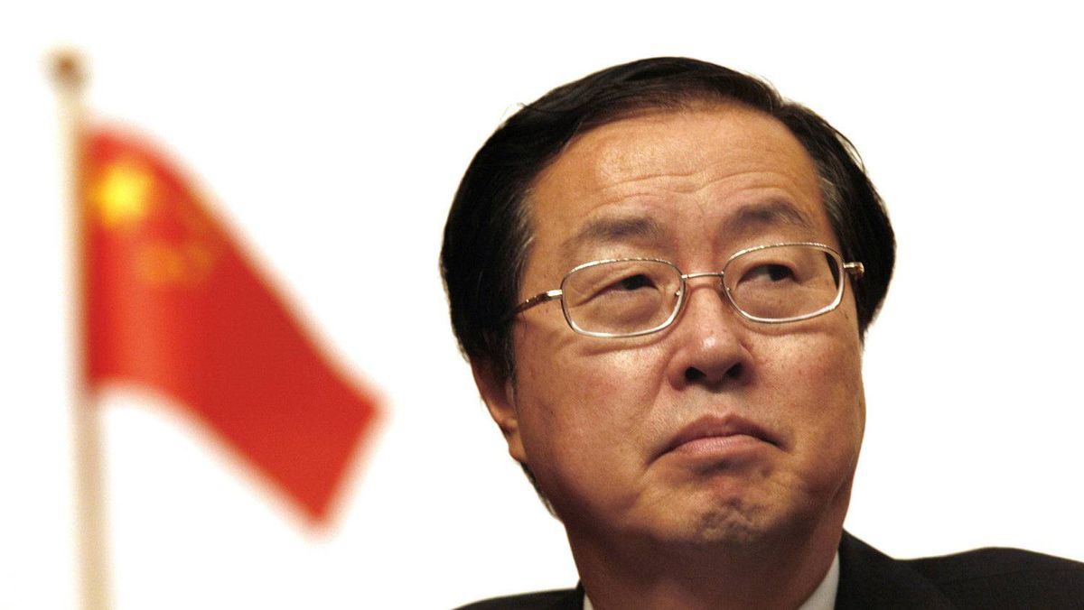 File photo of Zhou Xiaochuan, governor of the People's Bank of China.