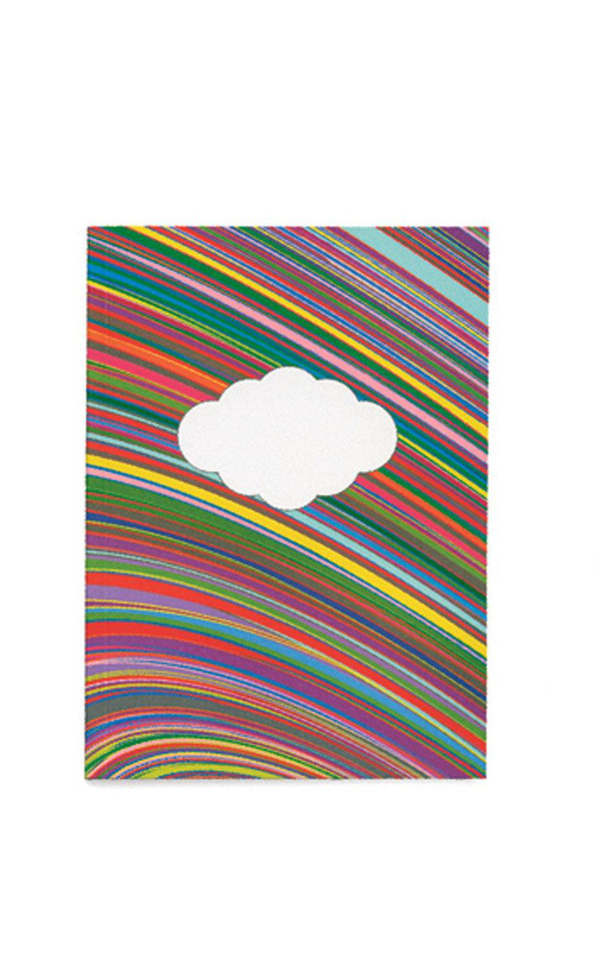 RAINBOW BRIGHT Made in Canada by Jonesy, this cheery notebook sporting a soy-ink rainbow cover design measures only five by seven inches, but holds 100 recycled-paper pages. A biodegradable sleeve keeps it stylishly contained. And there are no raffia ties in sight. $7 through www.jonesy.ca.