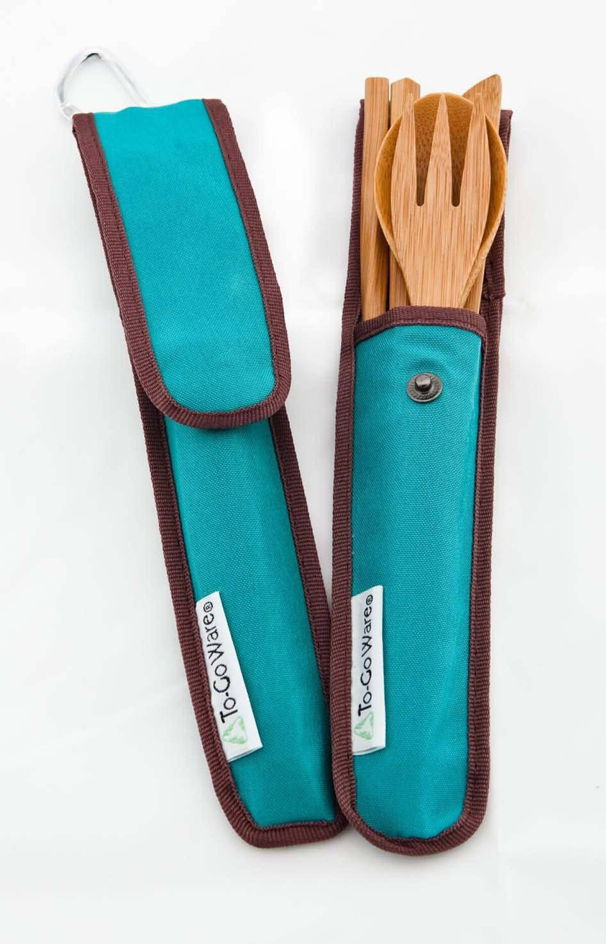 Eco-friendly cutlery Perfect for picnics, camping trips or meals at the cottage, To-Go Ware's Bamboo Utensil Set is an eco-friendly alternative to plastic cutlery. The reusable set includes a stain-resistant bamboo fork, spoon, knife and chopsticks. The carrying case is made of recycled plastic bottles. $12.95 (U.S.); rei.com