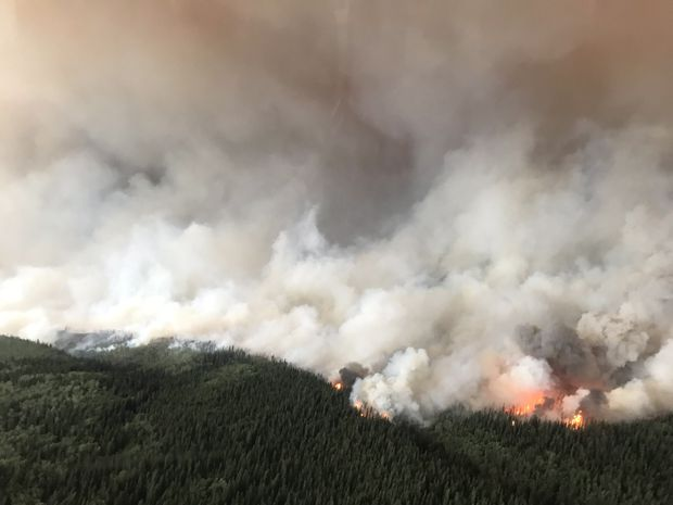 Wildfires prompt B.C. to declare state of emergency