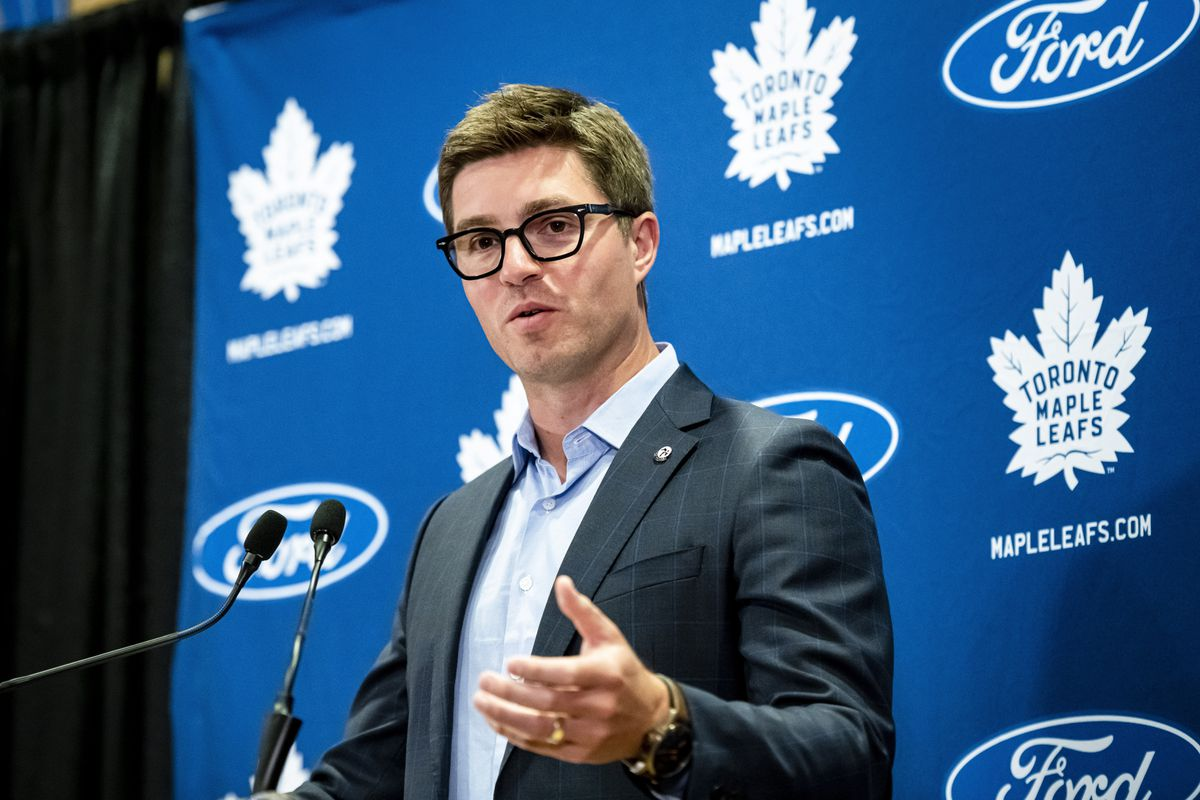 Toronto Maple Leafs general manager Kyle Dubas wants...