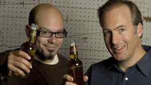 David Cross (L) and Bob Odenkirk close out Vancouver's ComedyFest.