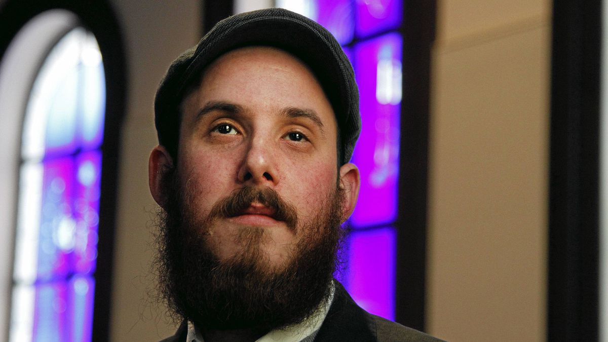 Ezra Krybus of Toronto was raised in a secular home, but has become an Orthodox Jew. 'One thing that really struck me was the amount of passion these people had,' he says.