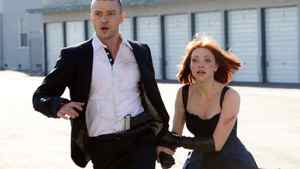 """Amanda Seyfried and Justin Timberlake in a scene from """"In Time"""""""