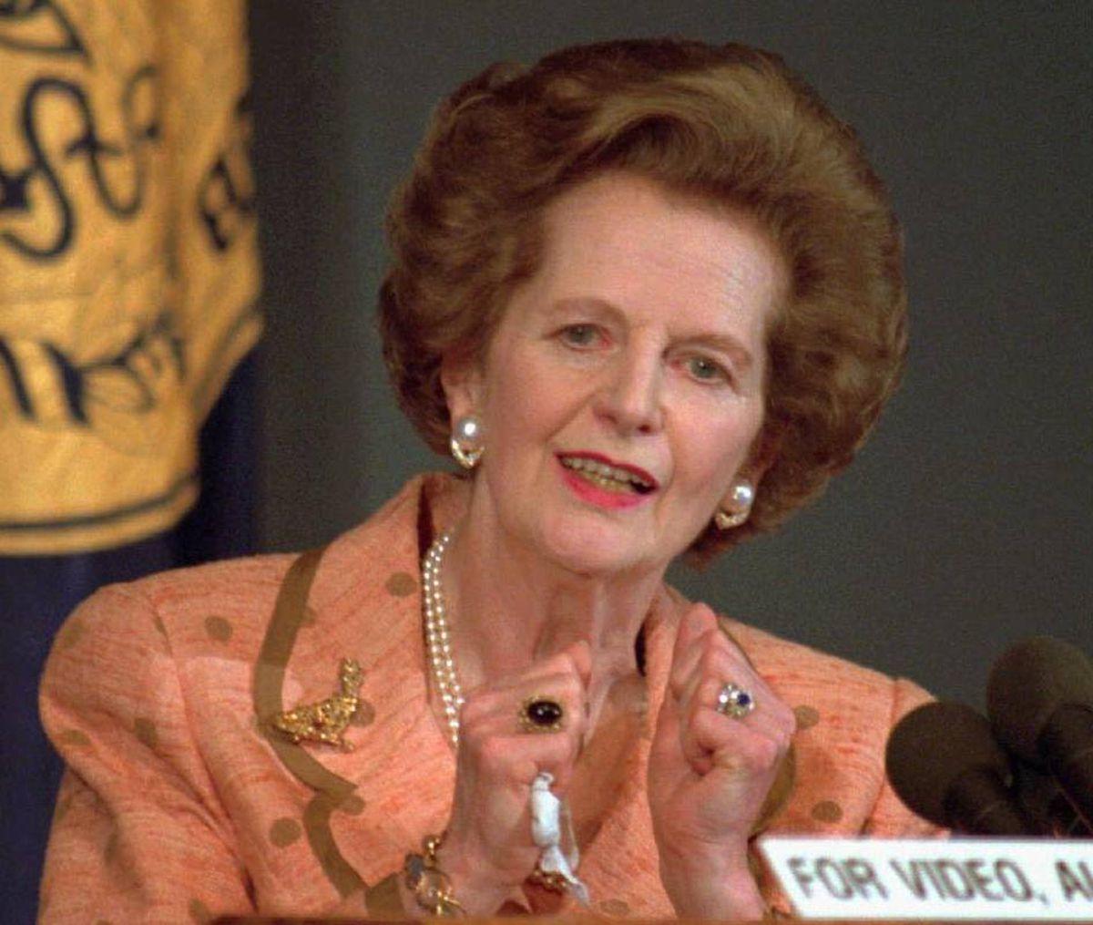 Margaret Thatcher's mental decline revealed by her Recent pictures of margaret thatcher