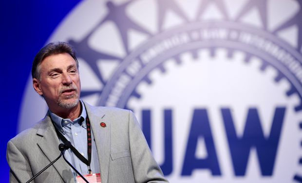 Former United Auto Workers vice-president Jewell charged in Fiat-Chrysler corruption probe