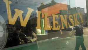 Wilensky's restaurant is in the Mile End neighbourhood of Montreal.