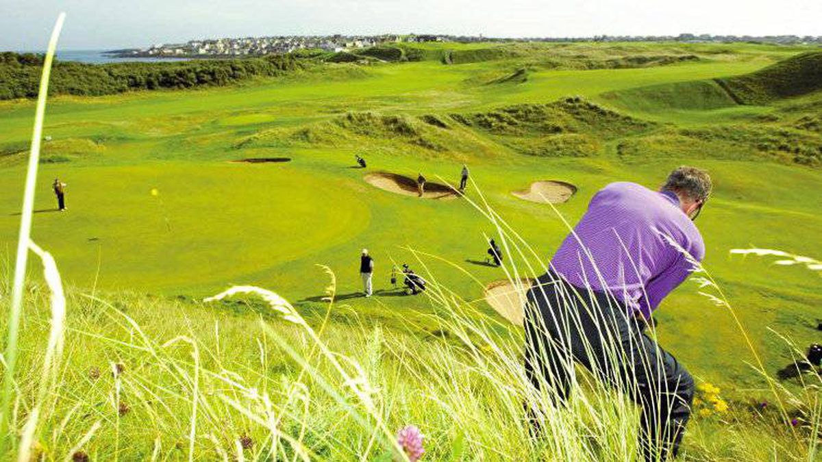 The Portstewart links course on Ulster's Causeway Coast.