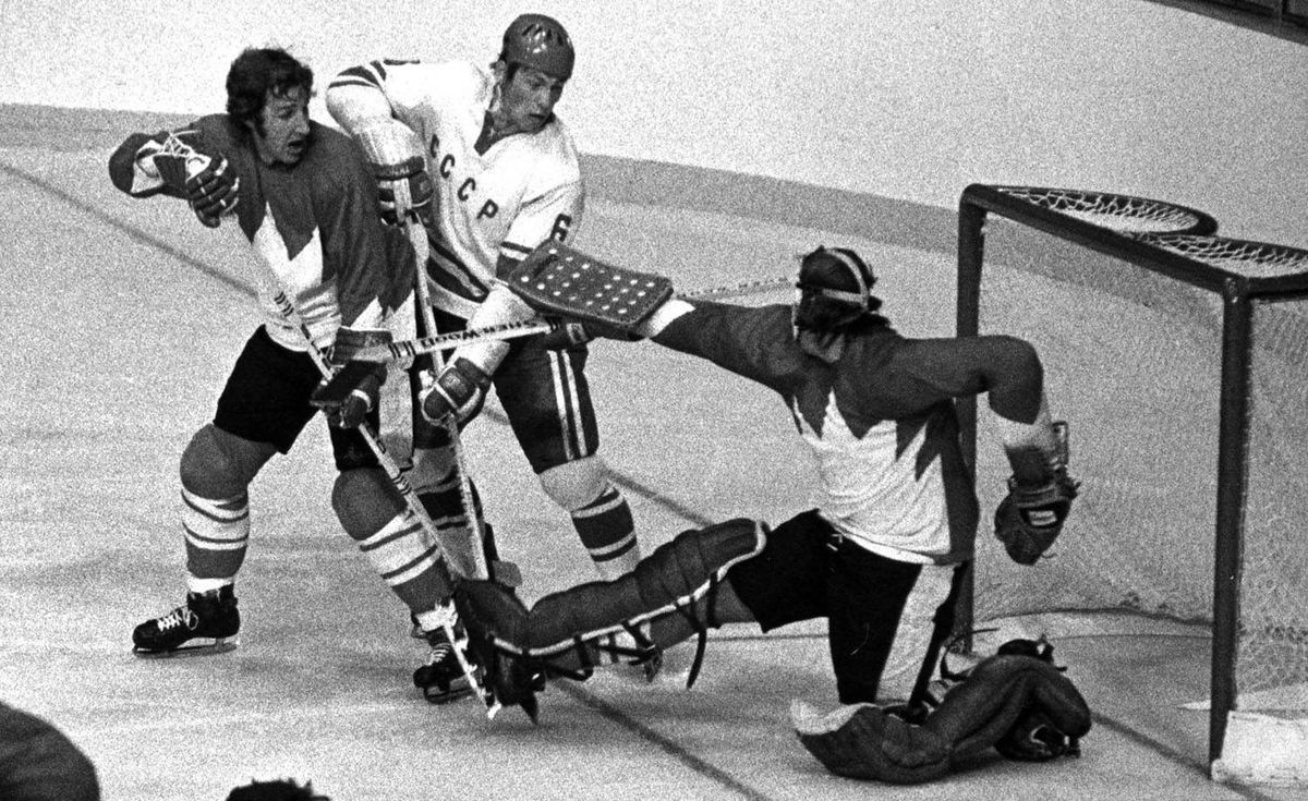 <b>1972 Team Canada: </b> While younger readers may better associate themselves with the 2010 or 2002 Olympic gold-medal teams, or even the Wayne Gretzky-led Canada Cup champions of 1987, the '72 squad is the granddaddy of them all. Paul Henderson's Summit Series-clinching goal not only struck a blow for Canadian hockey against the might of the Soviet Union at the height of the Cold War, but for all of Canada. Even now, 38 years later, it remains a huge source of national pride, as witnessed by the $1.275-million that Henderson's sweater fetched at auction last month. <i>Paul Attfield</i>