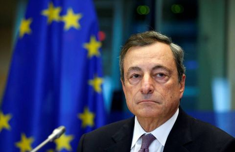 Draghi Warns Of Euro Risks, Hits Back At US On Currency Talk