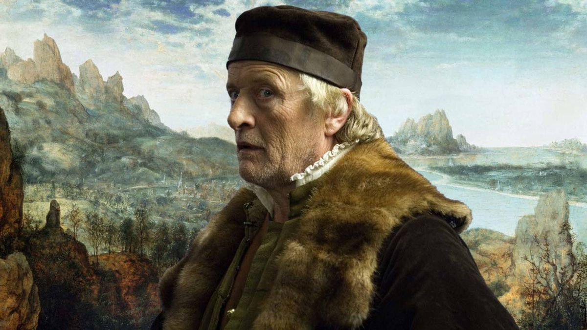"Rutger Hauer in a scene from ""The Mill and the Cross"""
