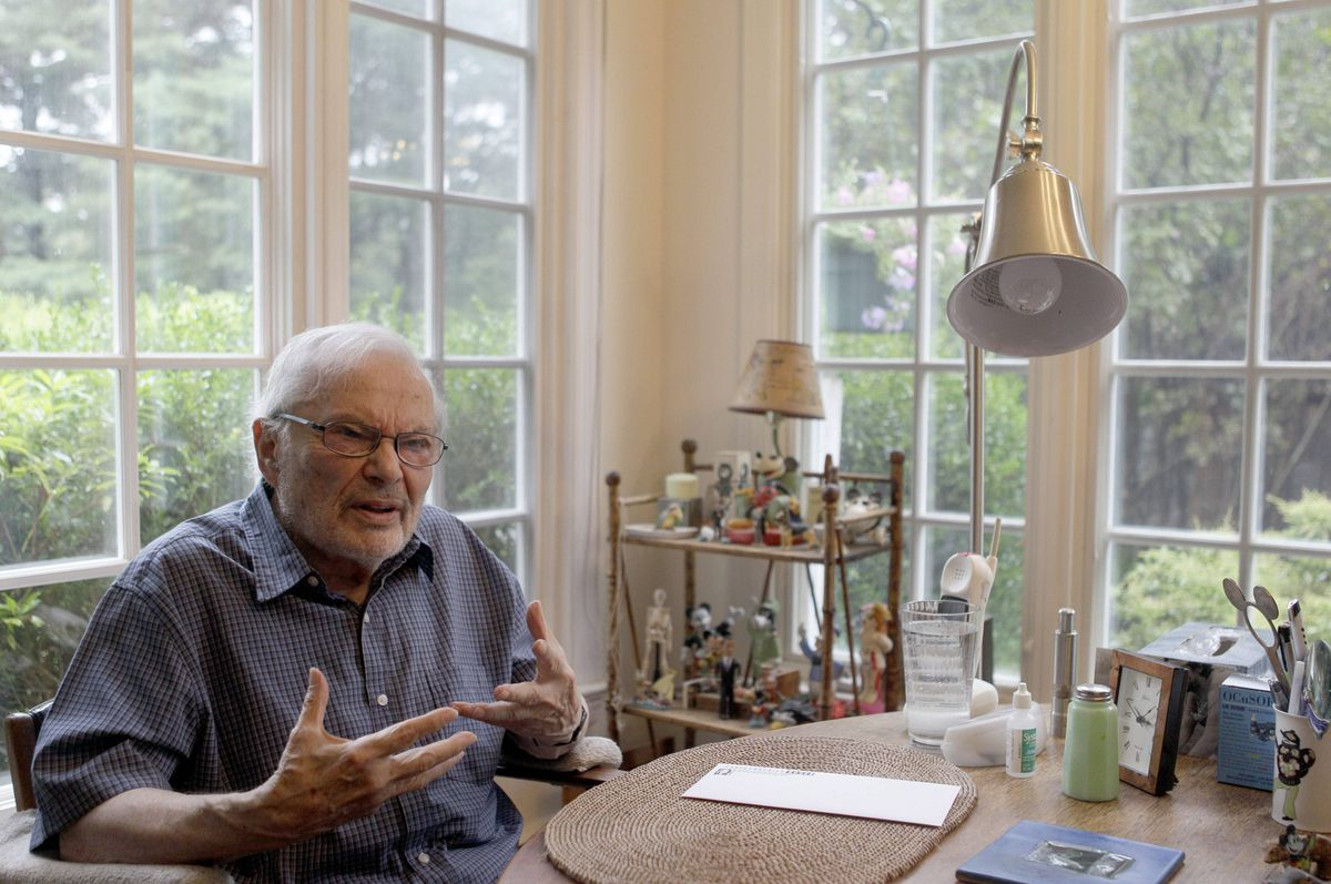 Maurice Sendak in his home in Connecticutt in 2011