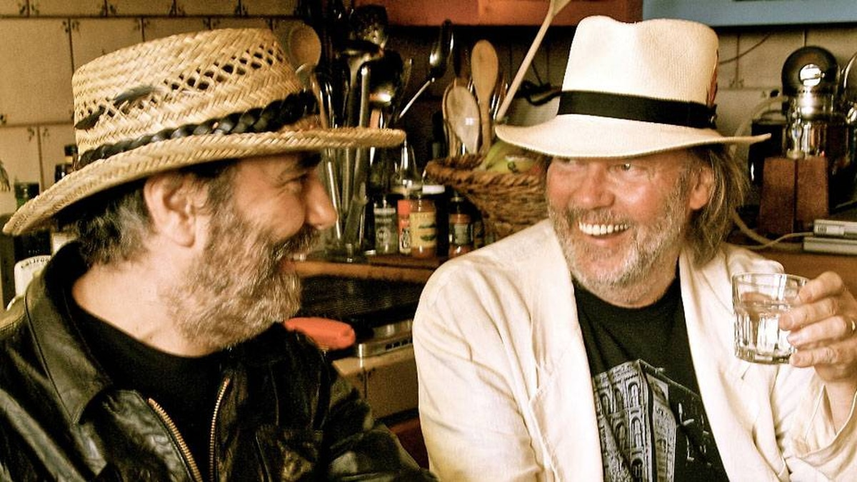 Daniel Lanois and Neil Young worked together on Le Noise.