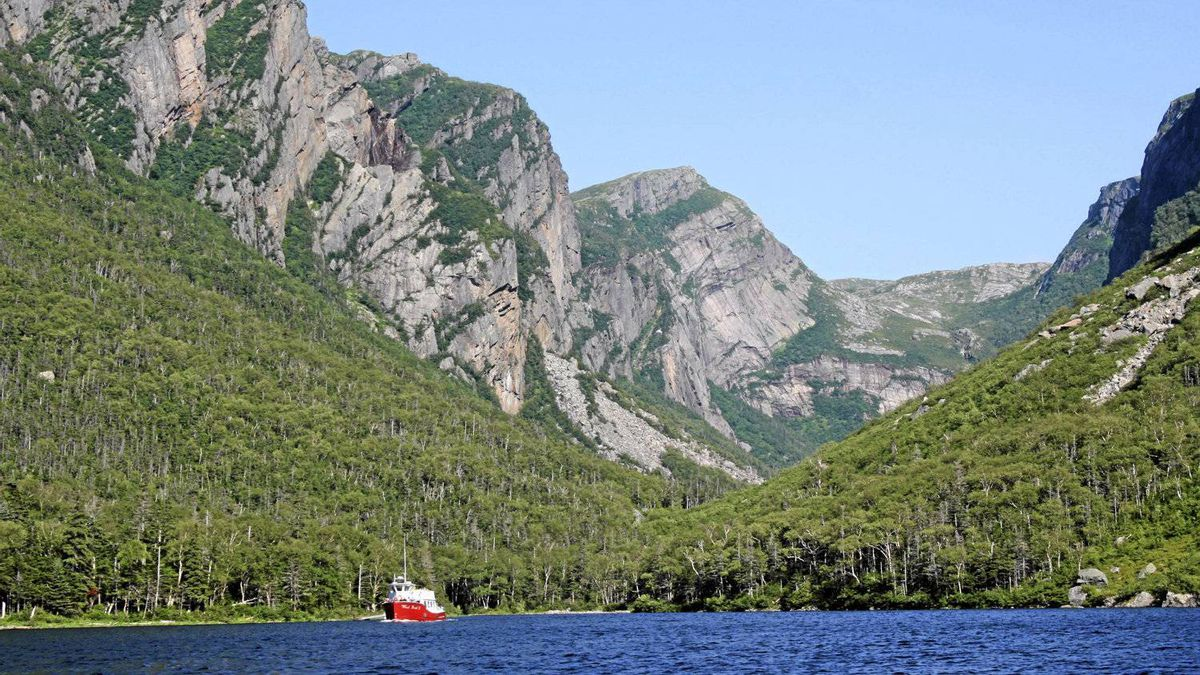 "Reader Sharon Veenstra writes: ""Gros Morne National Park consists of 1,805 square kilometres of natural beauty waiting to be explored. This picture was taken from the Western Brook Pond tour boat in July. Simply breathtaking!"""