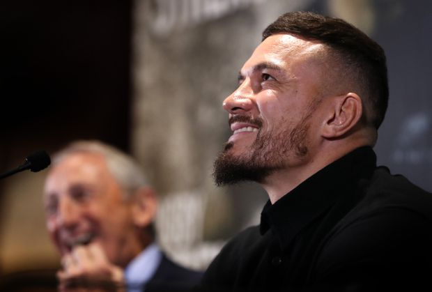 'It's been a whirlwind': All Black star Sonny Bill Williams relishing Toronto Wolfpack challenge