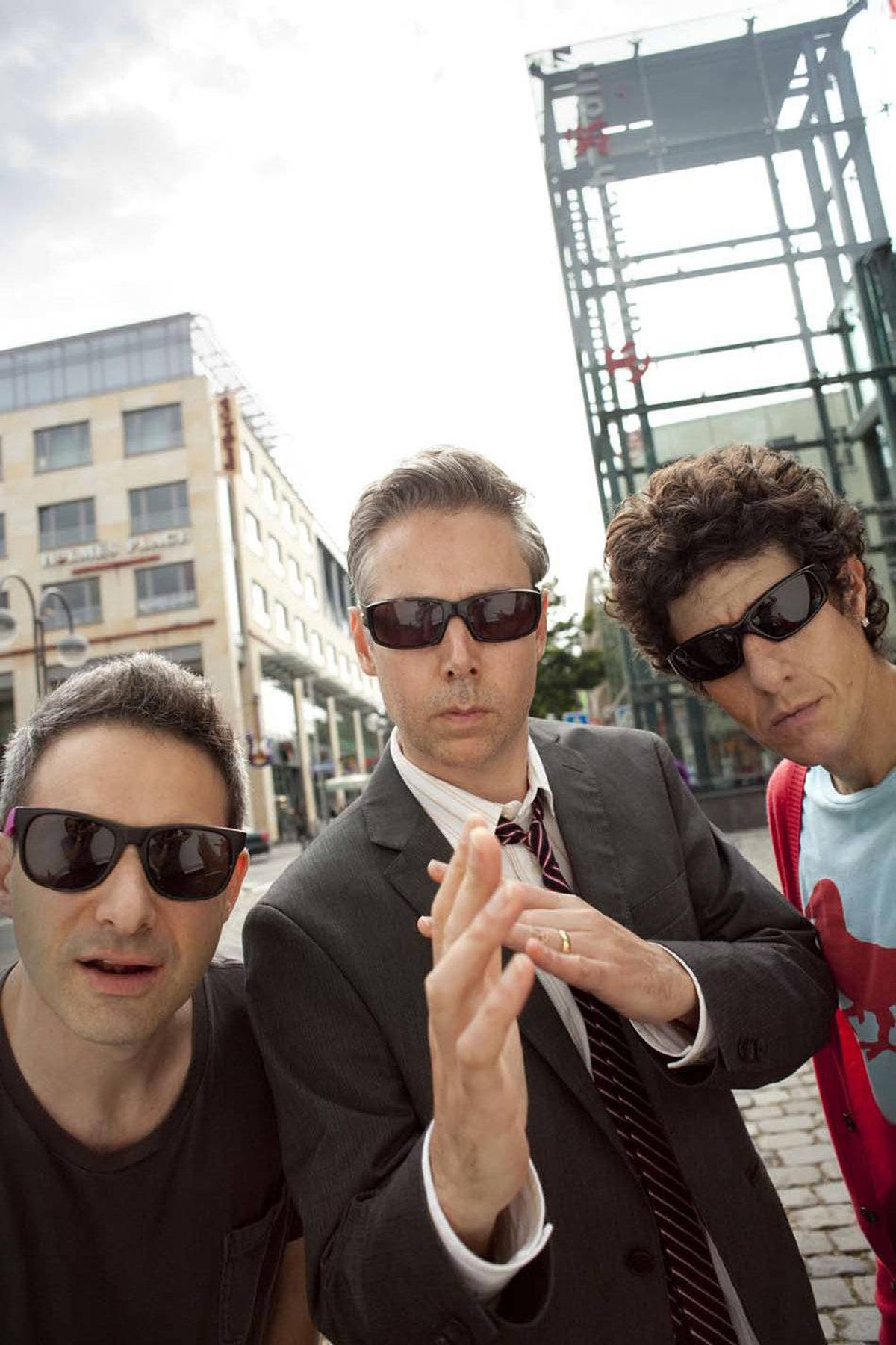 """The Beastie Boys (from left: Adam """"Ad-Rock"""" Horovitz, Adam """"MCA"""" Yauch, and Michael """"Mike D"""" Diamond) were and remain influential hip-hop artists and rockers. They were among the first bands to heavily sample other people's songs, especially on 1989's """"Paul's Boutique""""."""