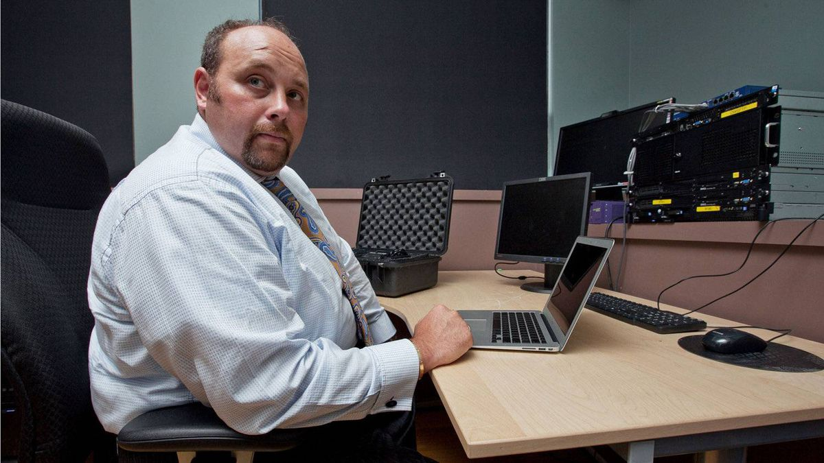 Daniel Tobok from Toronto-based IT security firm Digital Wyzdom, seen here April 5, 2011, says hackers seeking inside information on BHP Billiton's abortive takeover of Potash Corp. hacked the computer systems of major Bay Street law firms, financial institutions and public-relations agencies last year.