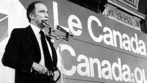 Prime Minister Pierre Trudeau speaks to the 1978 Liberal convention.