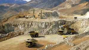Barrick's Veladero mine in Argentina