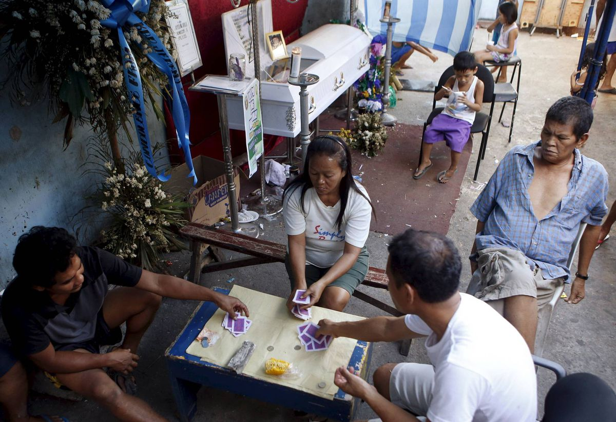 text gambling in the philippines Free gambling addiction papers, essays, and research papers.