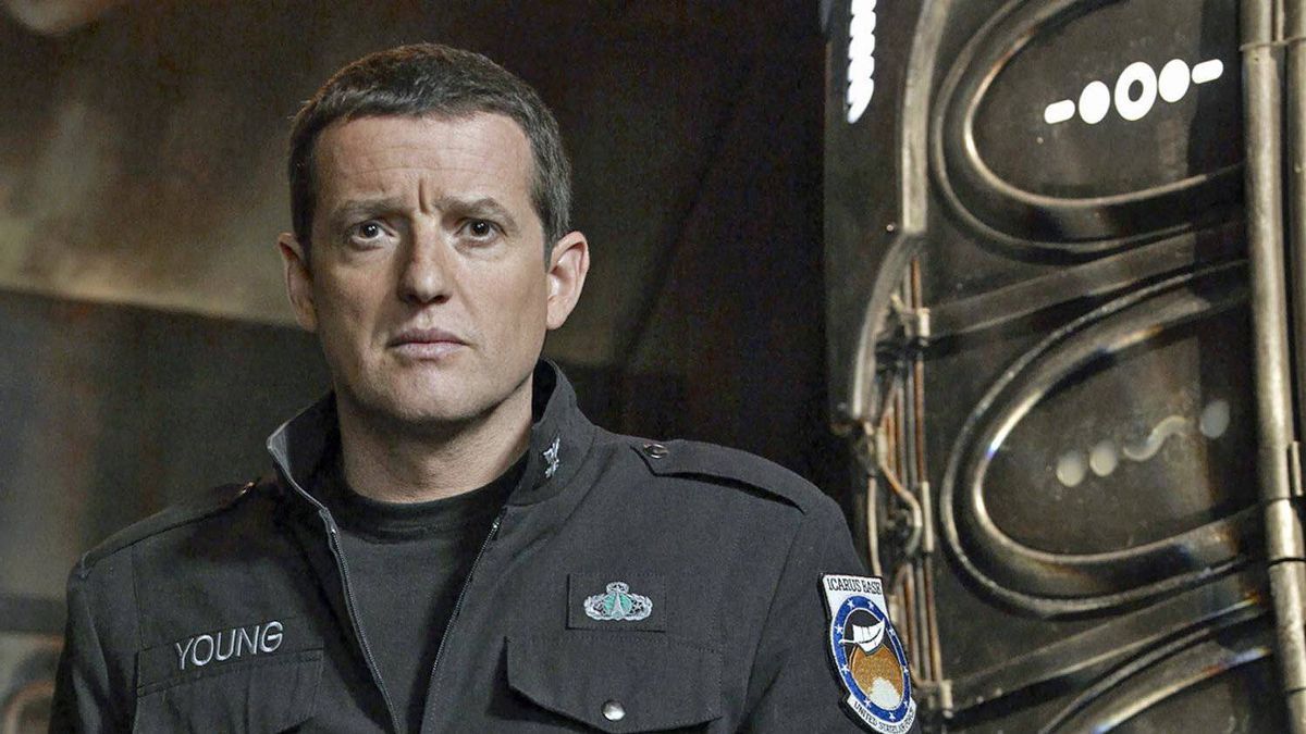 Canadian actor Louis Ferreira (formerly Justin Louis) portrays Col. Everett Young in Stargate Universe.
