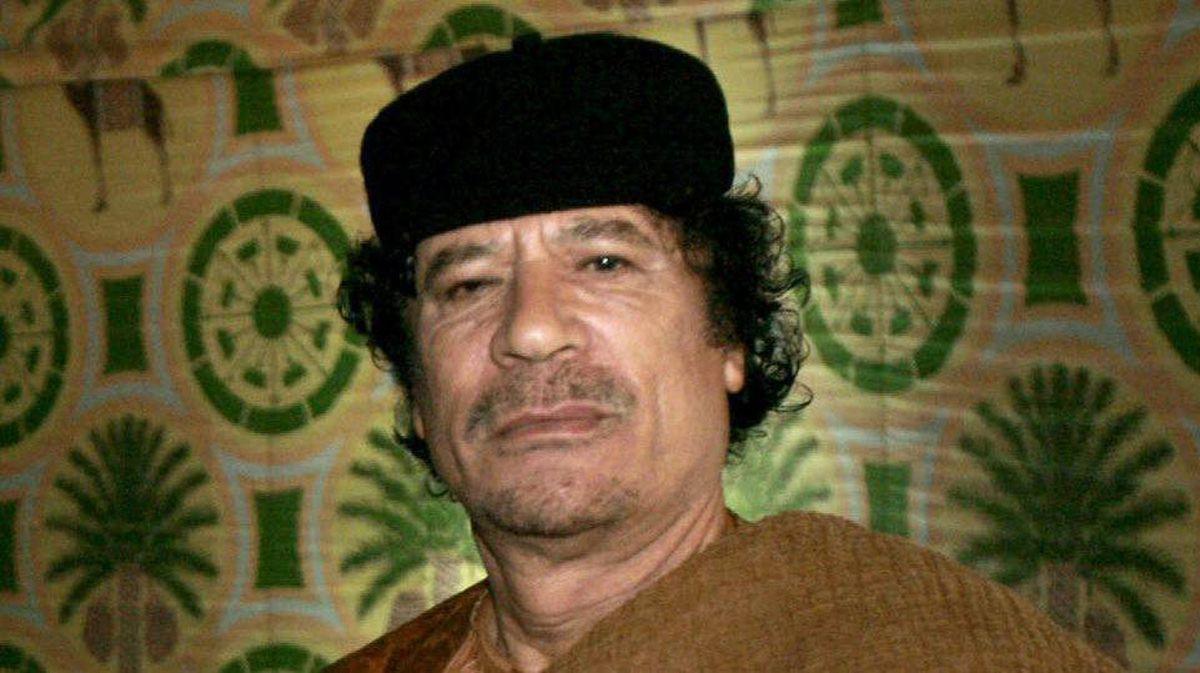 A 2007 file photo of Libyan dictator Moammar Gadhafi.