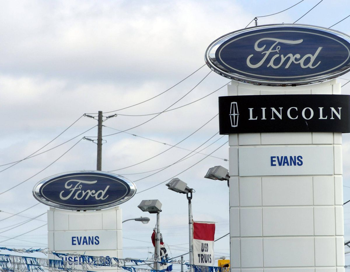 ford dealership sign. the globe and mail ford dealership sign r