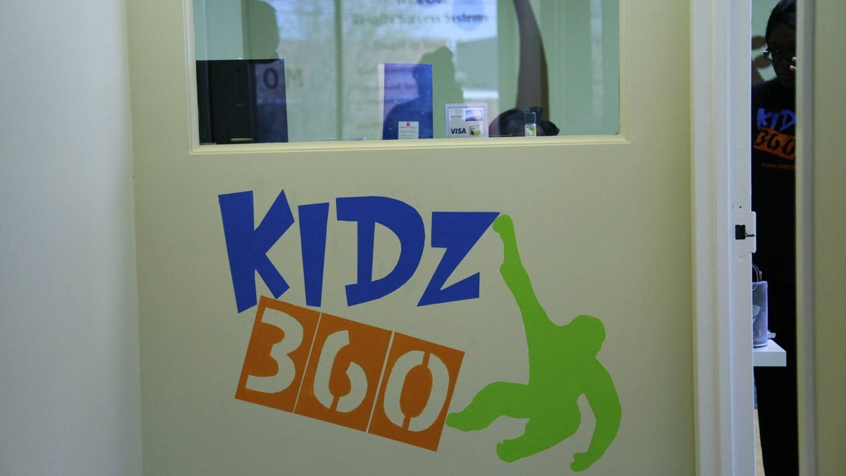 Shot of Kids 360, an interactive learning centre for children at the Motion Room.