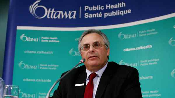 Isra Levy is Ottawa's Medical Officer of Health.
