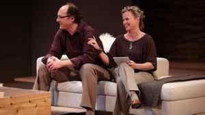 """Oliver Becker and Shauna Black in """"God of Carnage"""" at the doomed Vancouver Playhouse"""