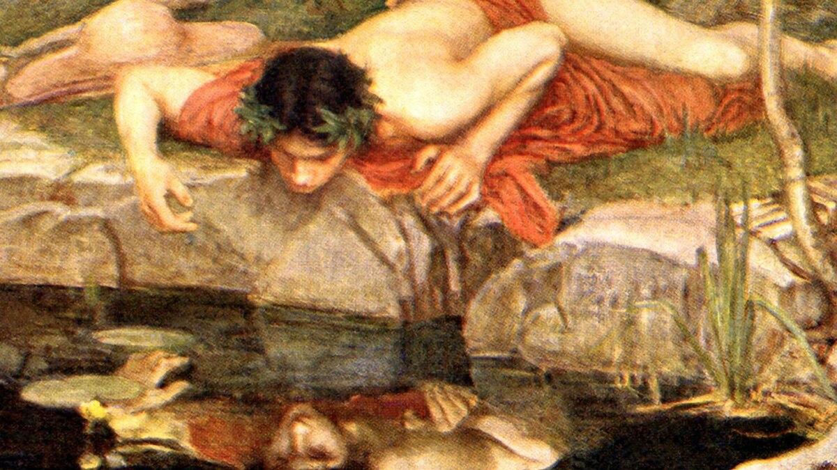 Narcissus. 1903. By John William Waterhouse.