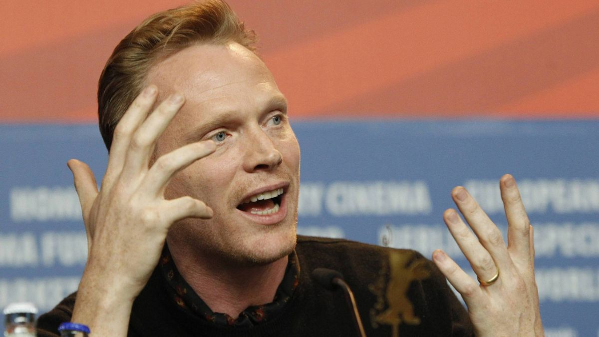 Actor Paul Bettany addresses a news conference to promote the movie 'Margin Call' at the 61st Berlinale International Film Festival in Berlin February 11, 2011.