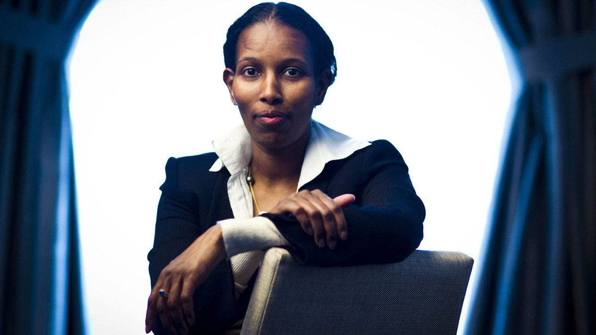 Ayaan Hirsi Ali a Somali-Dutch feminist and atheist activist, says death threats she received after she criticized Islam have, paradoxically, led her to live life more fully.