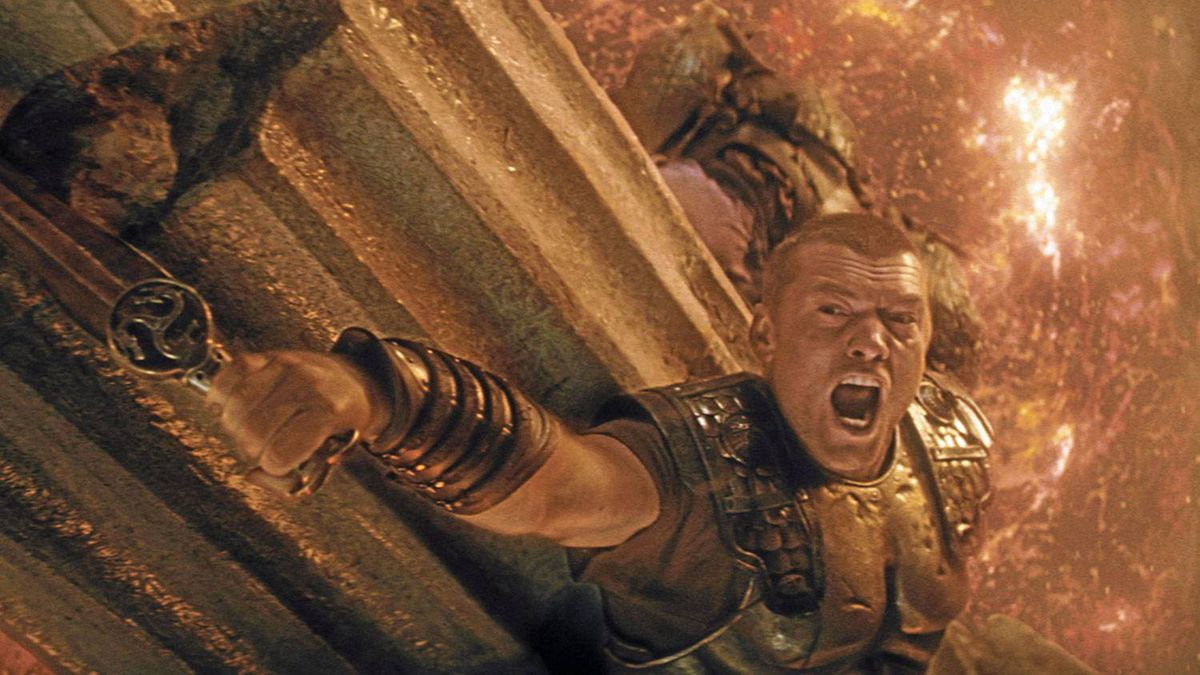 Sam Worthington stars as Perseus in the remake of Clash of the Titans.