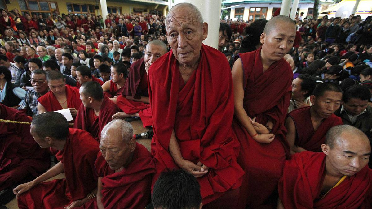 To underline the continuity and legitimacy of Mr. Sangay's mandate, the Dalai Lama recalled Wednesday that he had long championed for a democratic Tibetan political leadership.