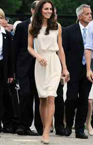 The Duke and the Duchess of Cambridge visit Fort Levis in Levis, Quebec on Sunday, July 3, 2011.
