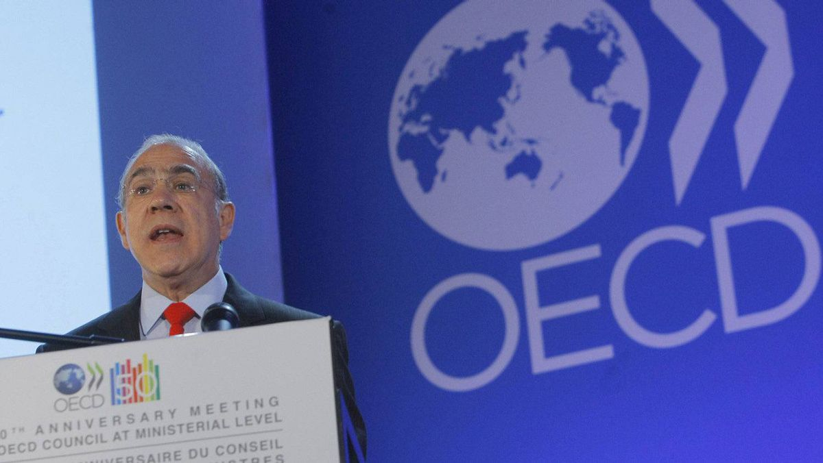 OECD's Secretary General Angel Gurria