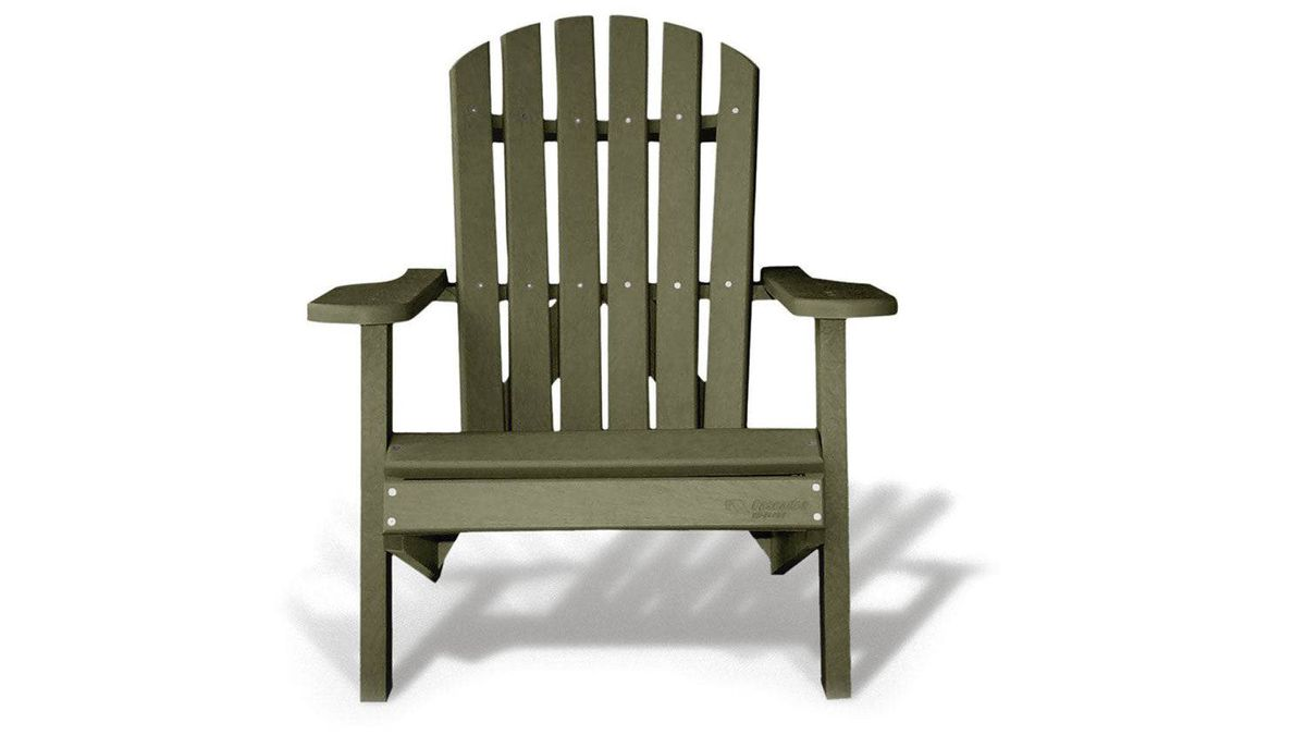 Chair heirs What becomes a legend most? In the case of time-honoured cottage seating, an eco-friendly facelift. Made of 100-per-cent recycled plastic, Cascades' Canadian-crafted model comes in a trio of earthy hues ($360) ...
