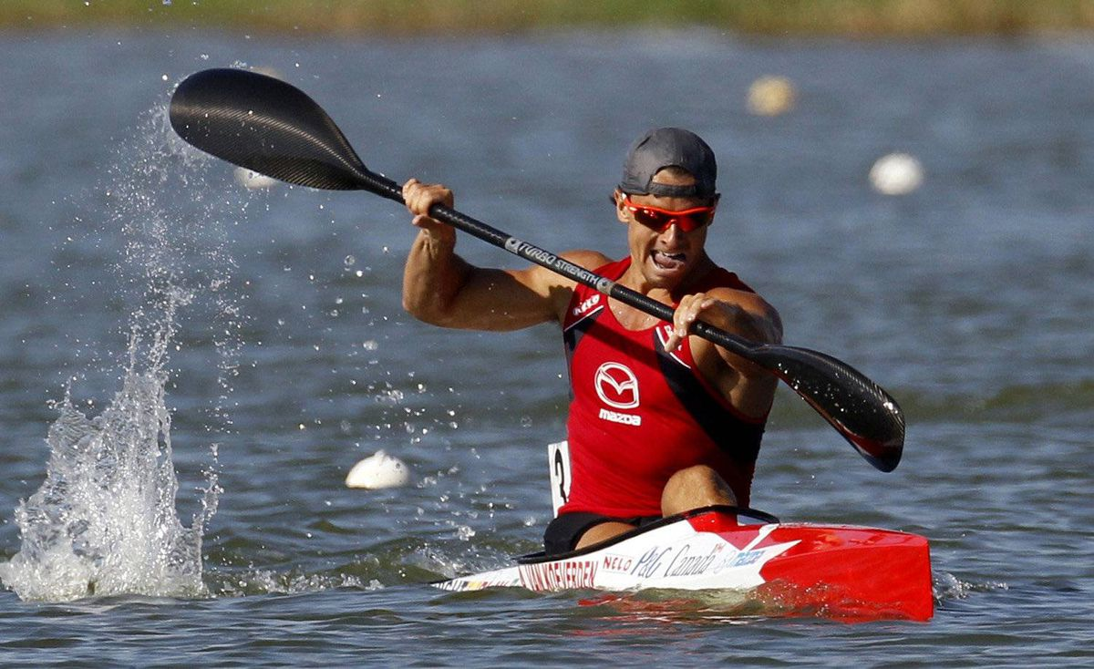 Adam van Koeverden of Oakville, Ont., has two Olympic medals and won the 1,000-metre kayak world championship in 2011.