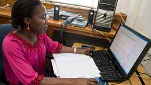 Thifhelimbilu Singo, 28, who grew up in a small town in South Africa's Limpopo province, is a graduate of the African Institute for Mathematical Sciences and is about to complete her PhD in nuclear physics at Stellenbosch University.