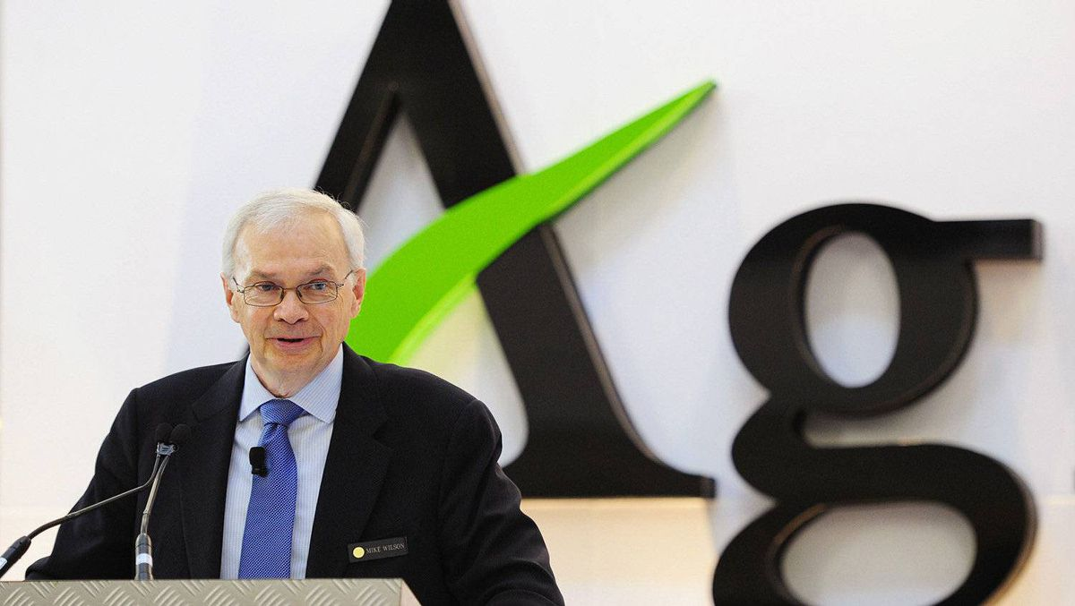 Michael Wilson, president and chief executive officer of Agrium.