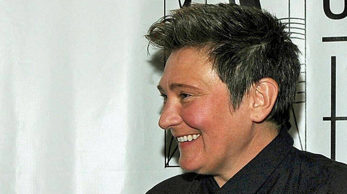 kd lang at the 41st Annual Songwriters Hall of Fame Ceremony in New York, June 17, 2010.