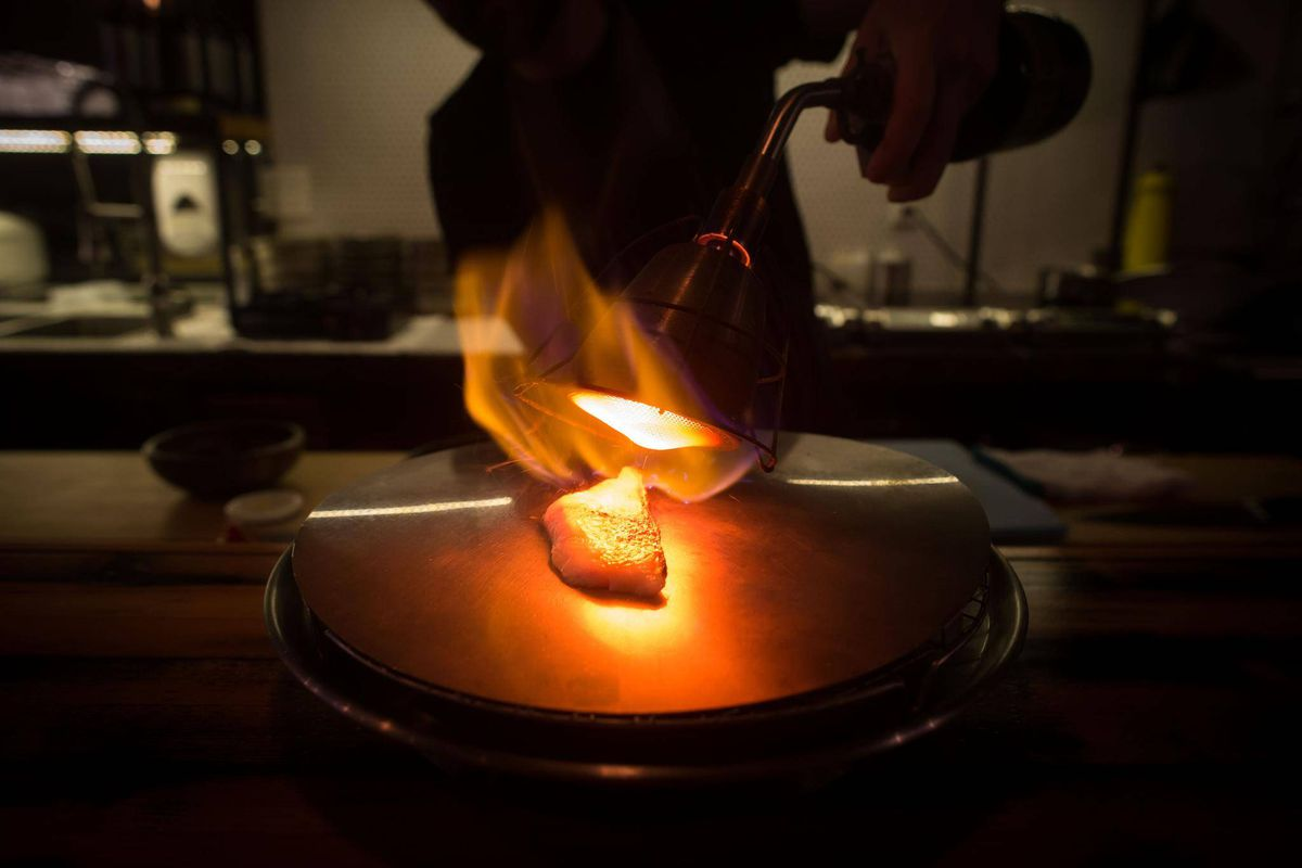 Sablefish Mail: Kappo Restaurant's Menu Is A Real Trial By Fire