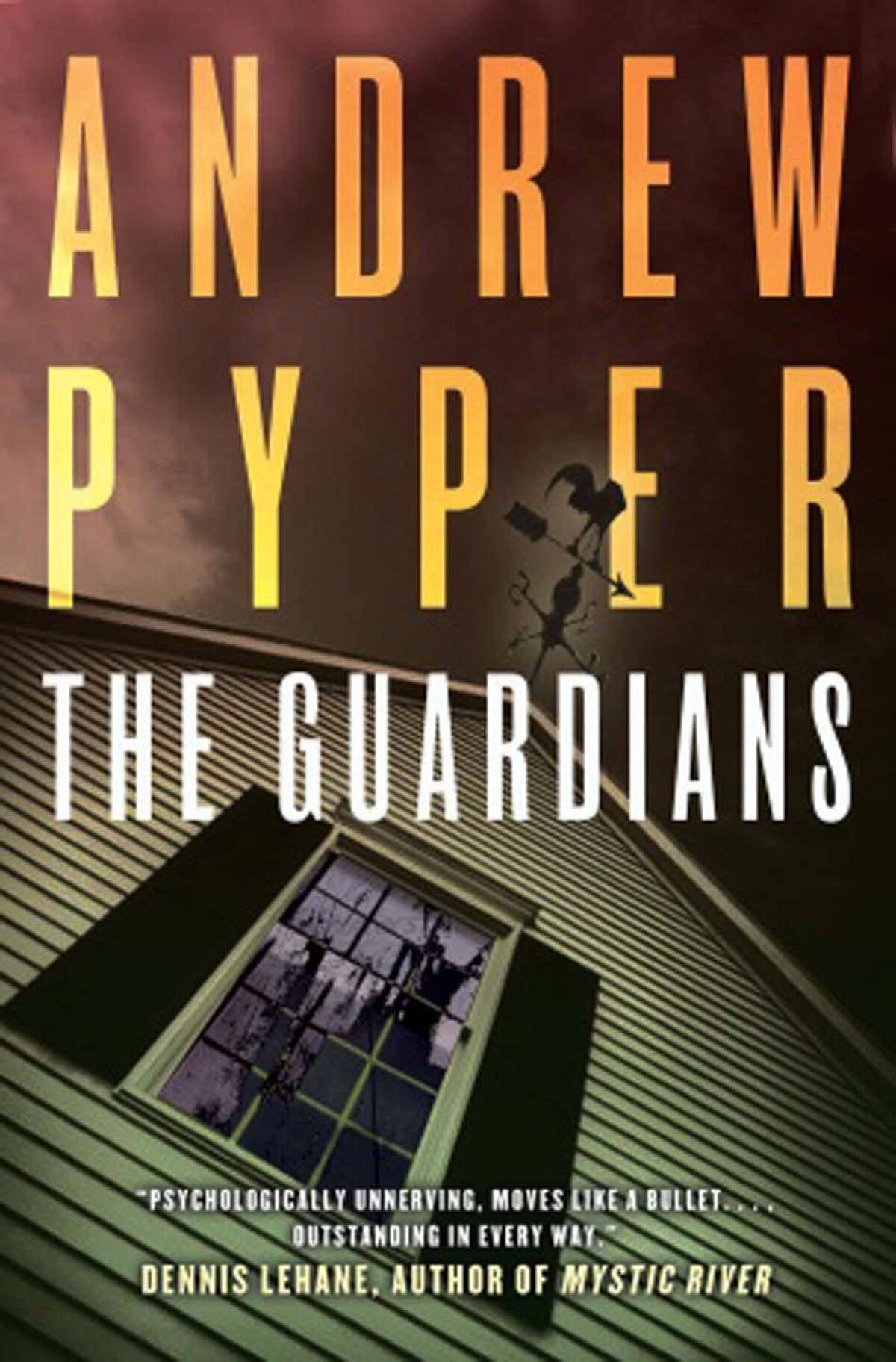 THE GUARDIANS By Andrew Pyper (Doubleday Canada) Trevor, Randy, Ben and Carl were friends and schoolmates. One day, a teacher disappeared; seeking to solve the mystery, they entered Thurman House, where the unspeakable happened. Twenty-four years later, Trevor is awakened with the news that Ben has hanged himself. They return for Ben's funeral, but the past begins to repeat itself when a young woman goes missing. – Christy Ann Conlin